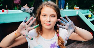 Краски, летний лагерь