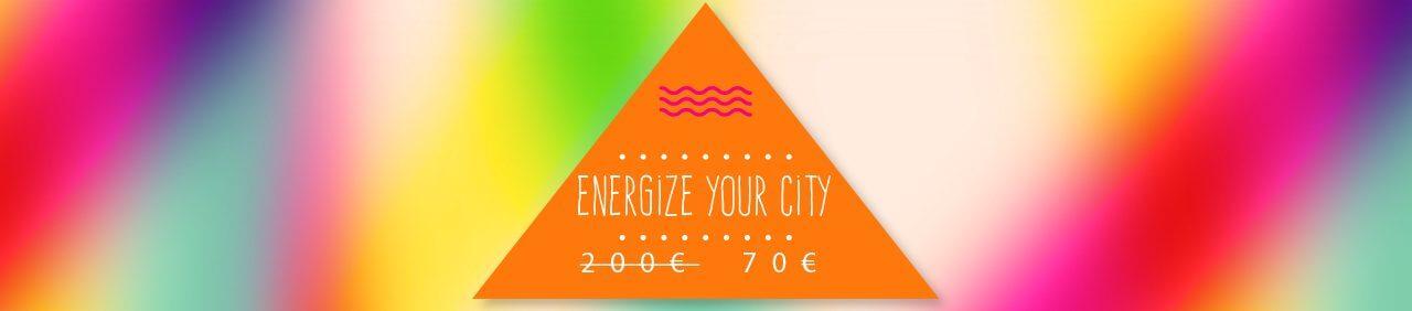 Скидки на участие в молодежном обмене Energize Your City.