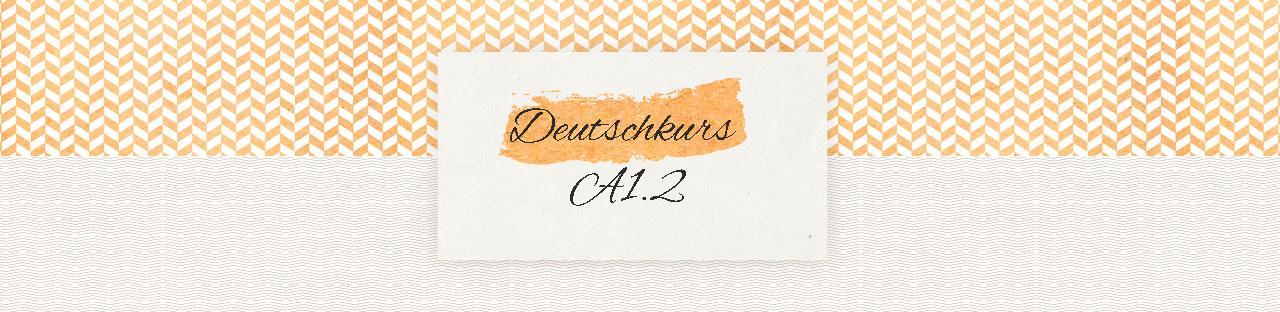Deutschkurs A1.2