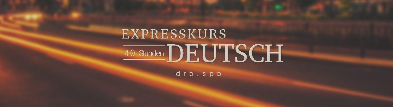 Expresskurs Deutsch.