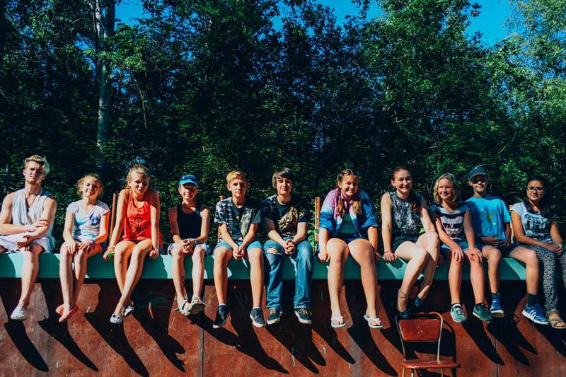 Детский лагерь с drb.