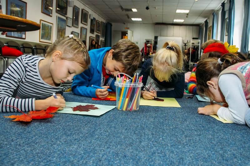 Курсы немецкого языка для детей 4- 10 лет в drb.