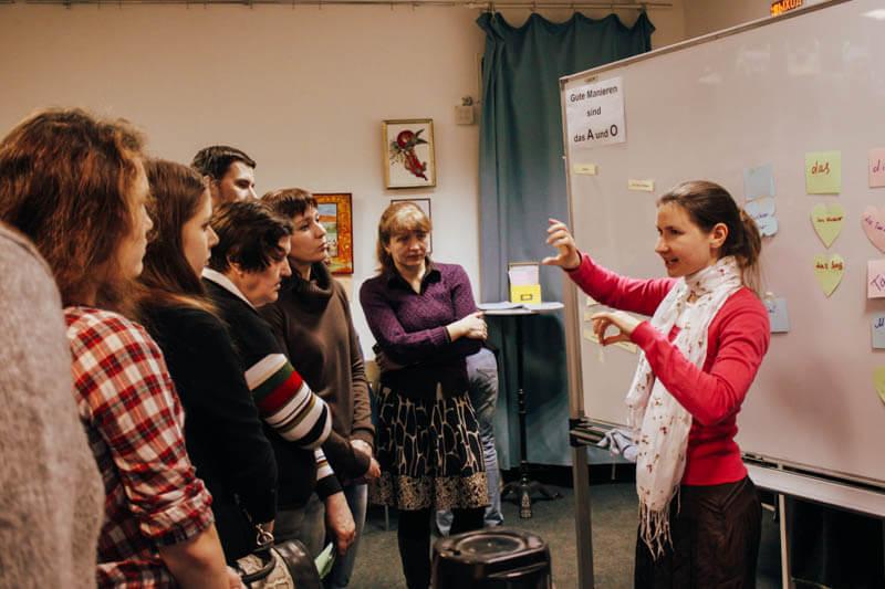 Стандартный курс немецкого языка в drb.
