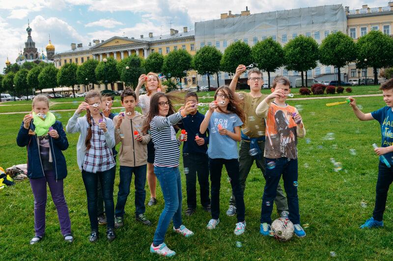Школьные каникулы в Санкт-Петербурге с drb.
