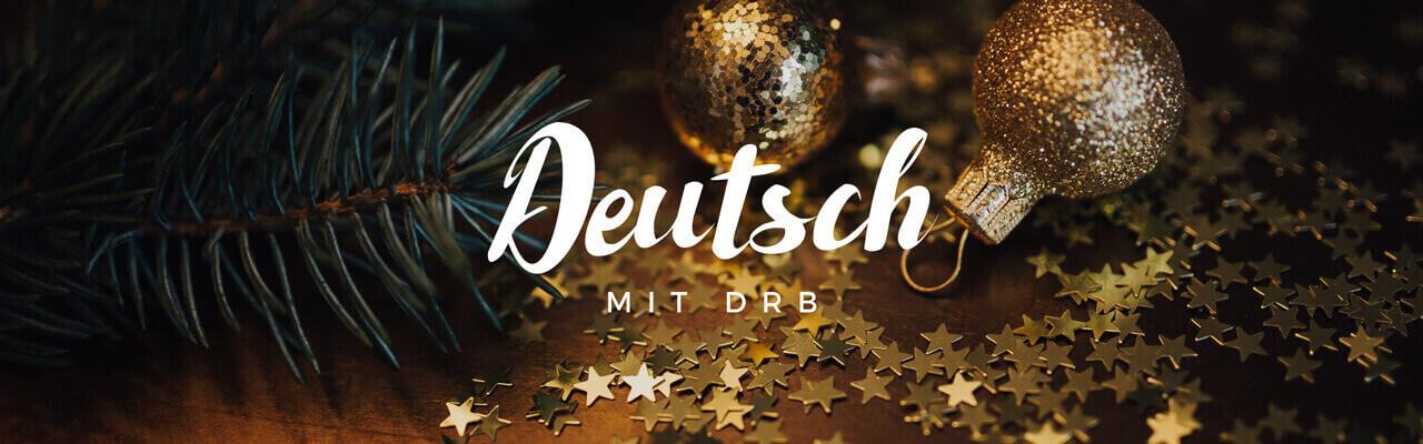 Учить немецкий язык с помощью новогодней лексики